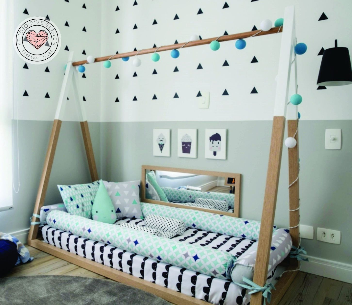 Tent Bed Montessori Bed Nursery Bed Kids Bed