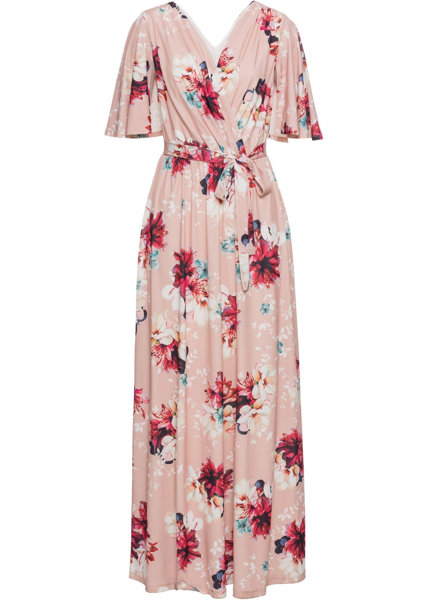 various colors 9b002 61dbd Langes Sommerkleid aus Jersey in 2019 | Products | Kleider ...