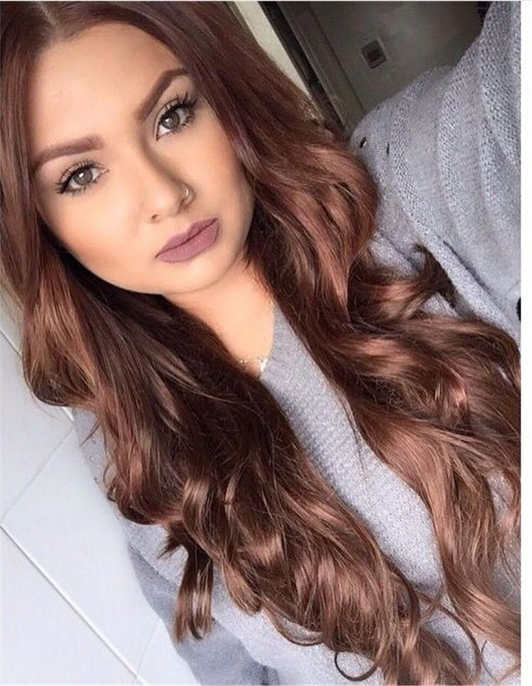 63 Stunning Examples Of Brown Ombre Hair In 2020 Hair Color