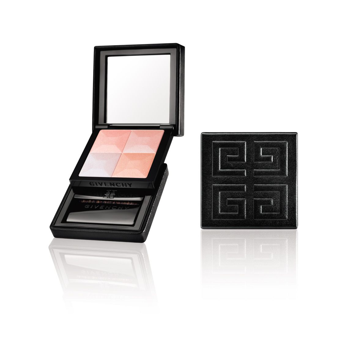 LUMINOUS SKIN WITH A HINT OF ROSY HOLIDAY CHEER IN ONE CHIC COMPACT  Winter's cool clear air infuses the skin with the prettiest pink flush. It's the perfect rosy glow that's nearly impossible to duplicate. That is, until now…