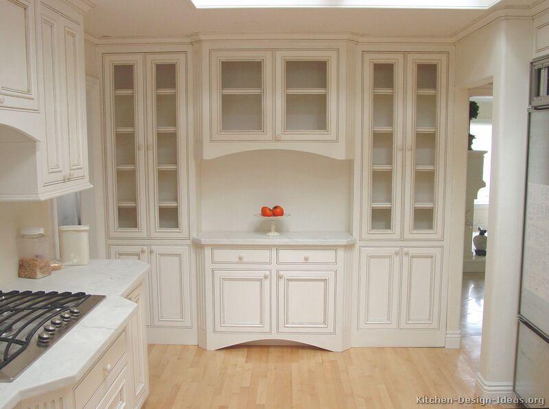 Off White Antique Kitchen