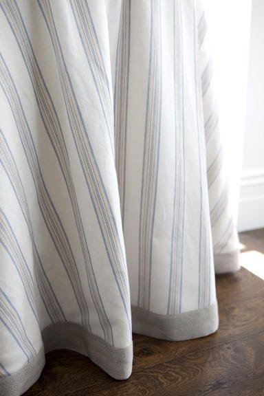 Edged Curtain Detail Curtain Length Curtains Effortless Style Blog