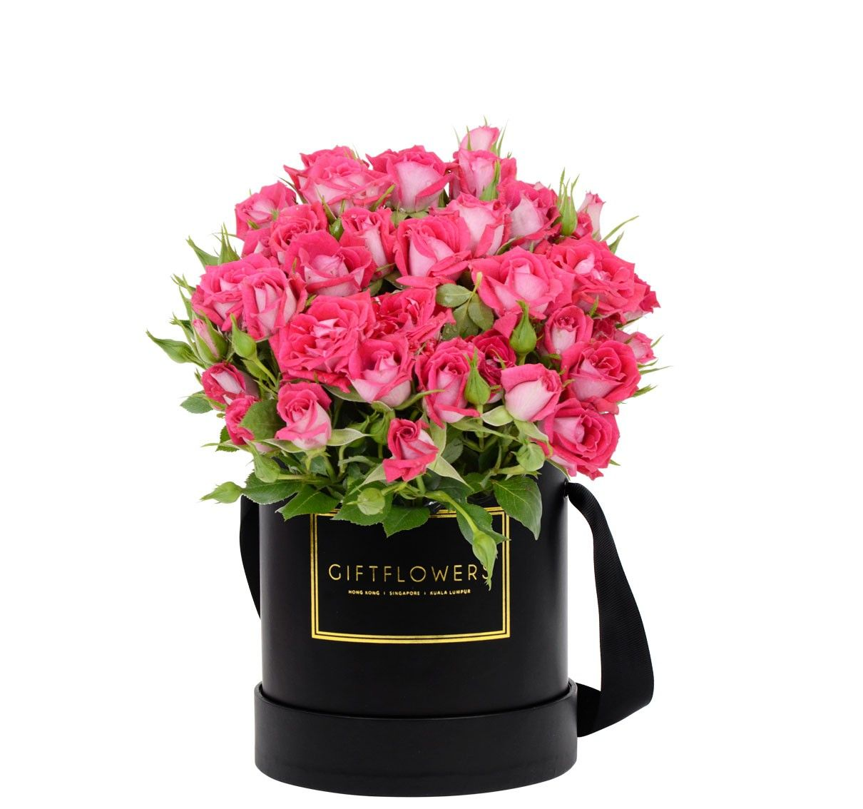 Mini roses with elegant flower box gift flowers sg bloom box mini roses with elegant flower box gift flowers sg negle Images