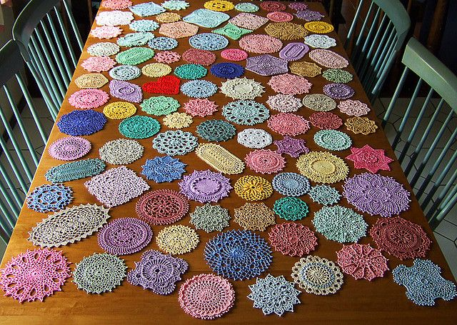 From The Book 99 Little Doilies By Patricia Kristoffersen