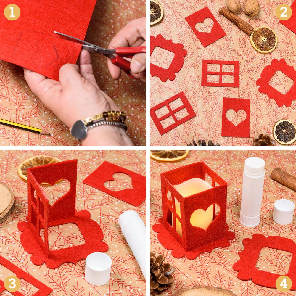 Come Creare Una Renna Luminosa come decorare le lanterne per natale | lanterne di natale