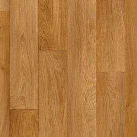 Basement Flooring Ivc 13 1 8 Ft W Camargue Wood Finish Sheet Vinyl Lowes Com Vinyl Flooring Oak Planks Flooring