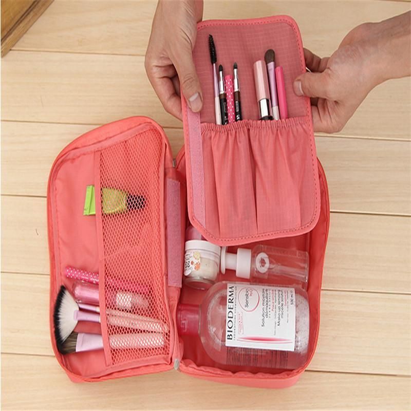 Travel Makeup Bag, Toiletry Bag - Available in 6 Colors