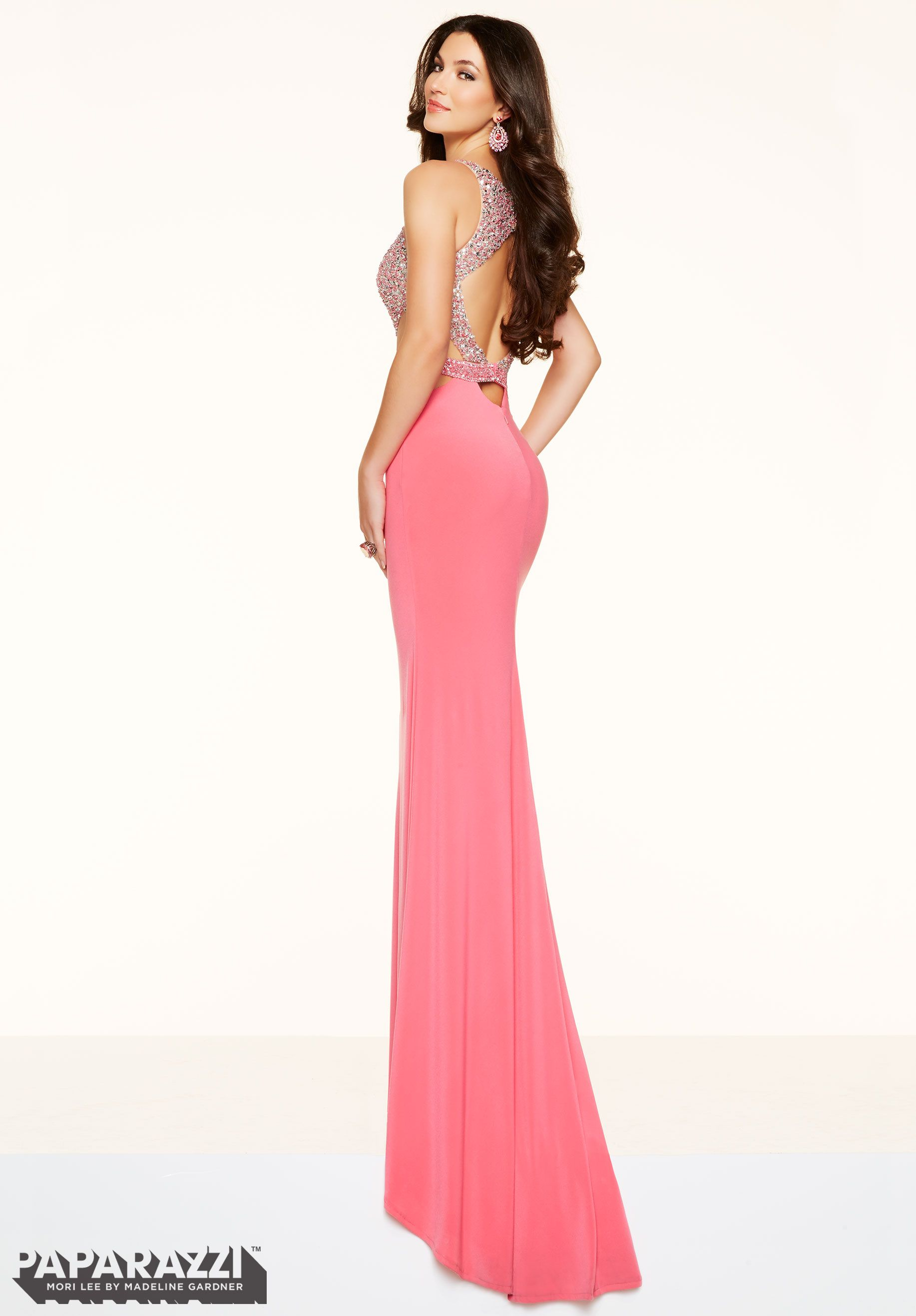Prom Dresses by Paparazzi Prom - Dress Style 98062   Showing back ...