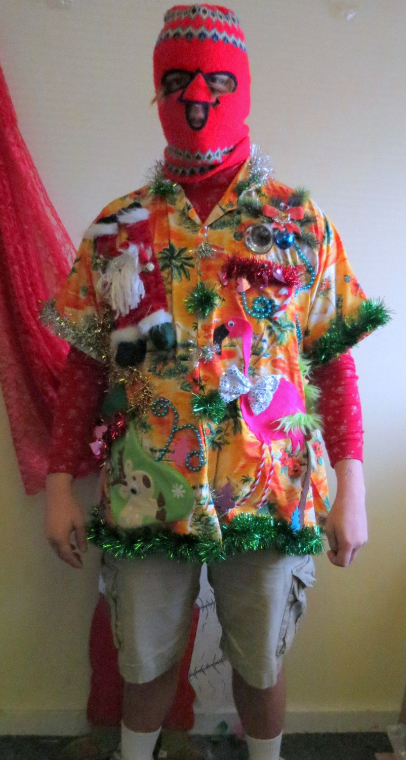 Pin On Tropical Ugly Christmas Sweaters