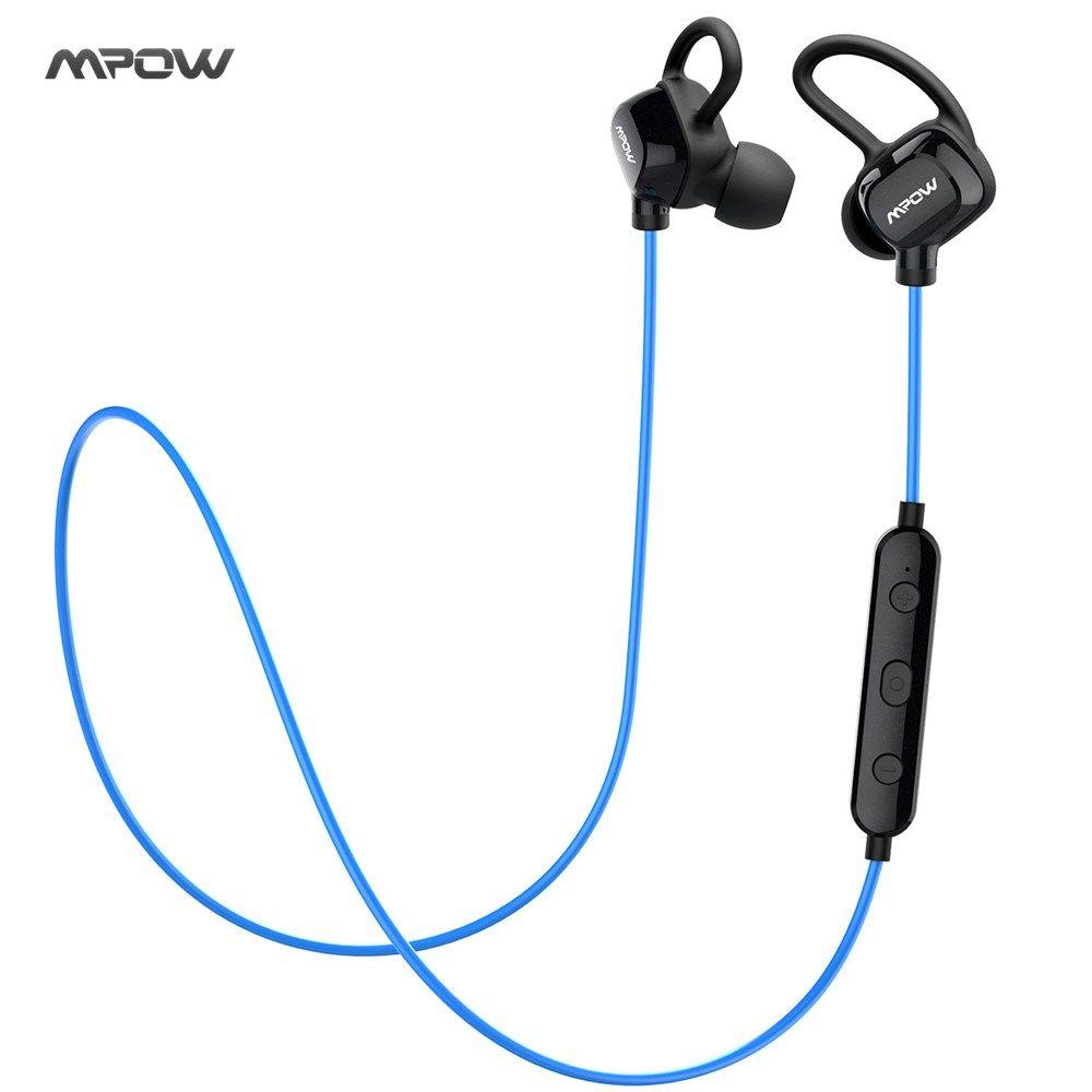 Cheap New Mpow Bluetooth Headphones Wireless Earphones Sweatproof Sports Headset Earbuds Cvc6 0 Noise Cancelling For Sma Earbuds Wireless Earphones Headphones