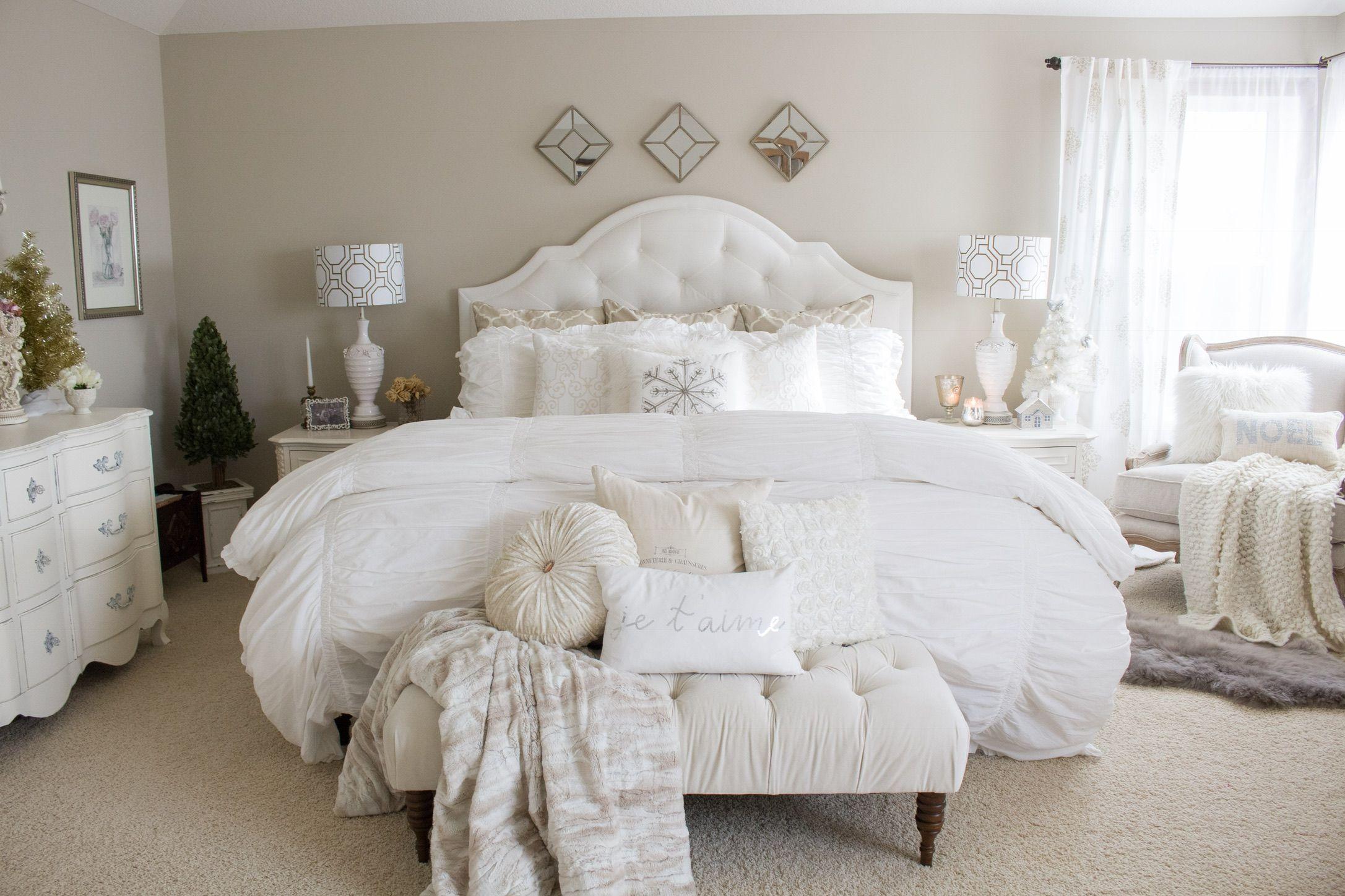 french vintage glam bedroom bloggers best christmas decor recipes rh pinterest com Romantic Luxury Master Bedroom vintage glam bedroom home depot