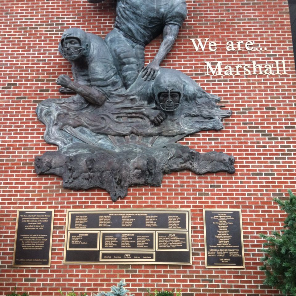 WeAre!! Marshall thundering herd football, Marshall