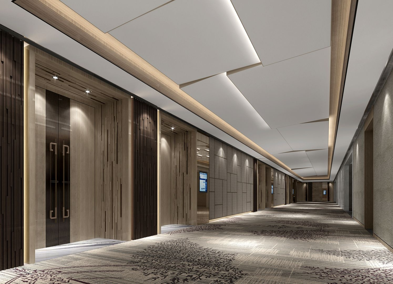 Corridor Design: Pin By Allen Hsieh On Elevator Hall In 2019