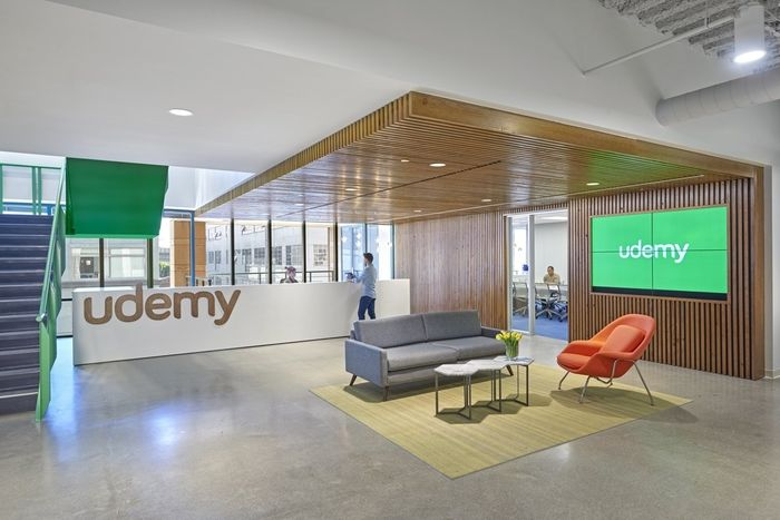 Udemy Offices San Francisco Of Online Educational Company Located In California