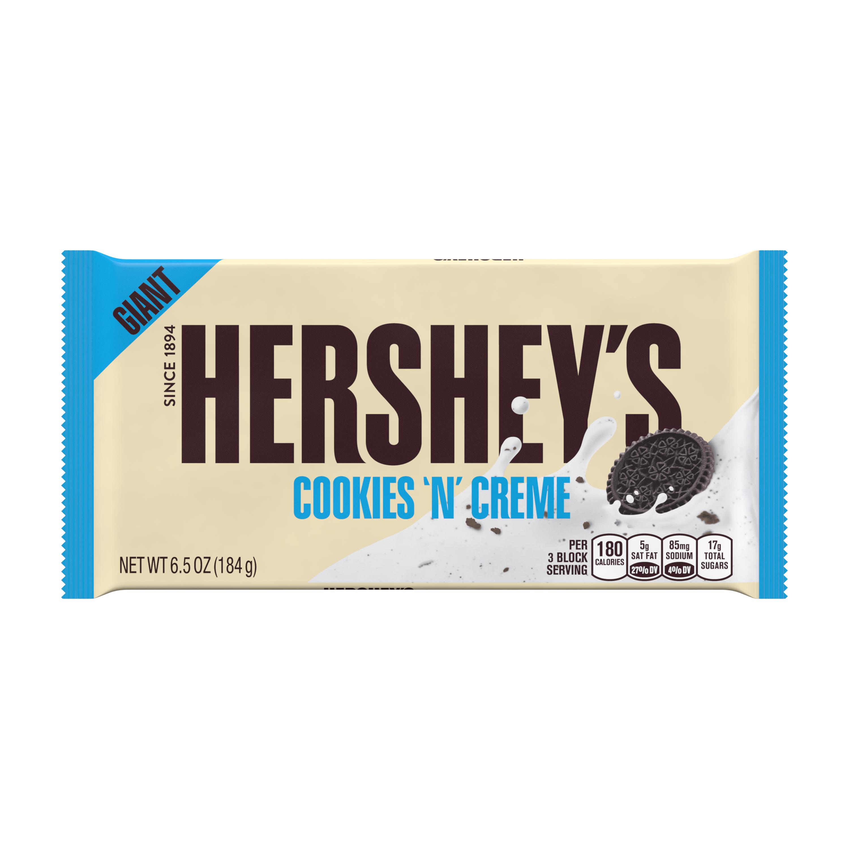Hershey S Giant Cookies N Creme Candy Bar 6 5 Oz Walmart Com In 2020 Giant Cookie Hersheys Candy Bar Gifts Esta tarta de zanahoria es una manera fantástica de consumir este saludable ingrediente en forma de añade a las yemas montadas con el azúcar la piel rallada del limón y su zumo, las zanahorias. pinterest