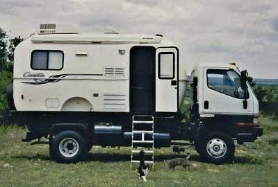 Bruce Hersey Mounted A 17 Foot Casita Trailer As Camper Body The Is