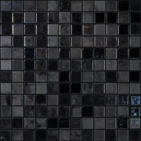 black velvet 1 glass tile mosaic