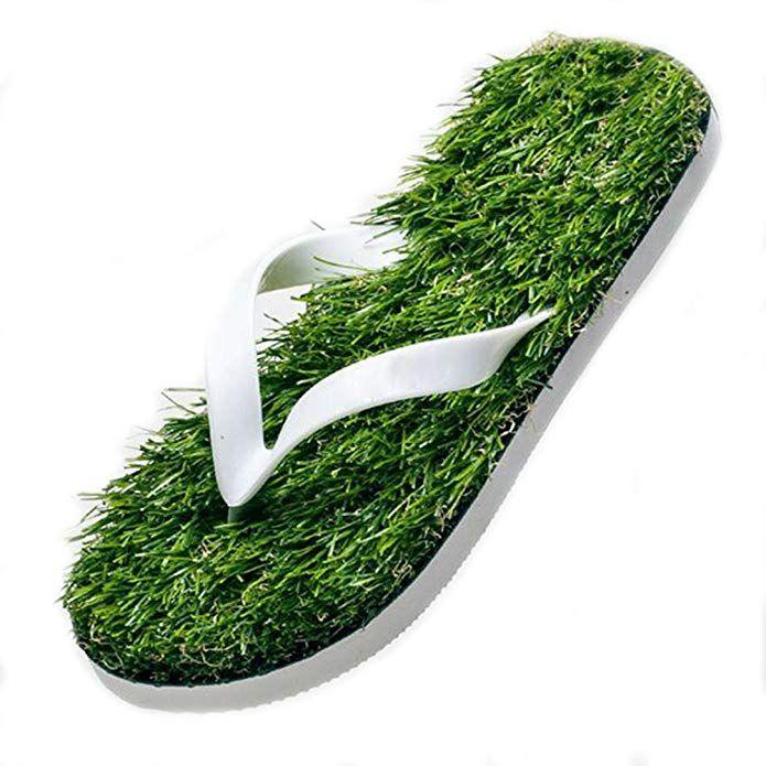 30b968c61d4 wyhweilong The Walking Grass Slipper Men Women Review