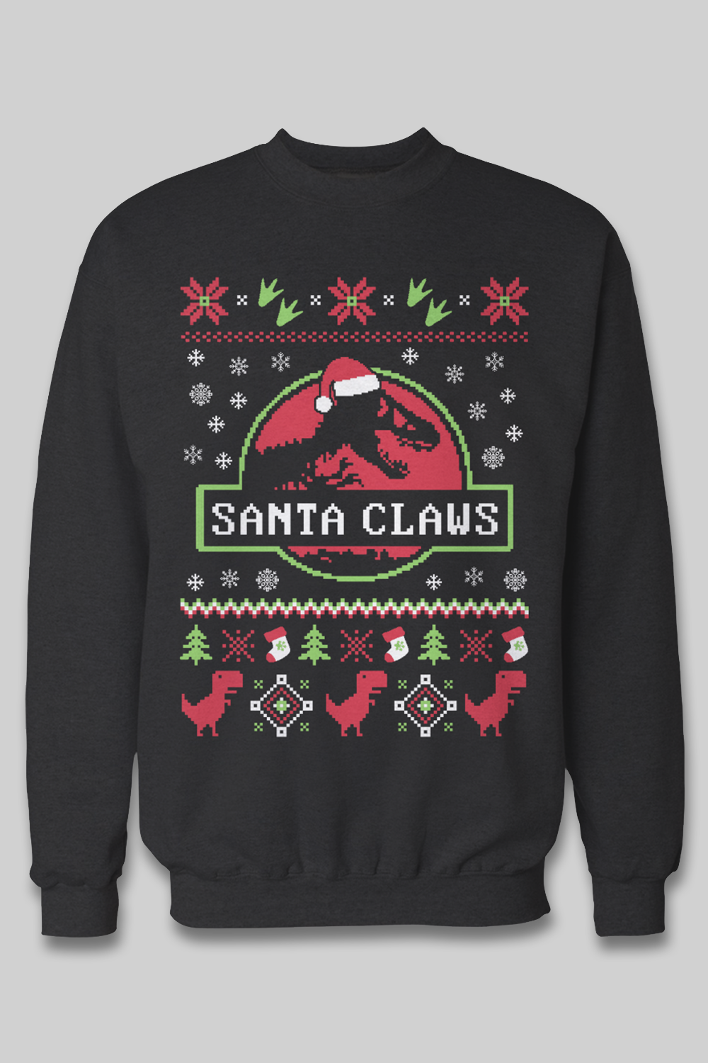 The best gift for Jurassic Park fans! I need this ugly christmas ...