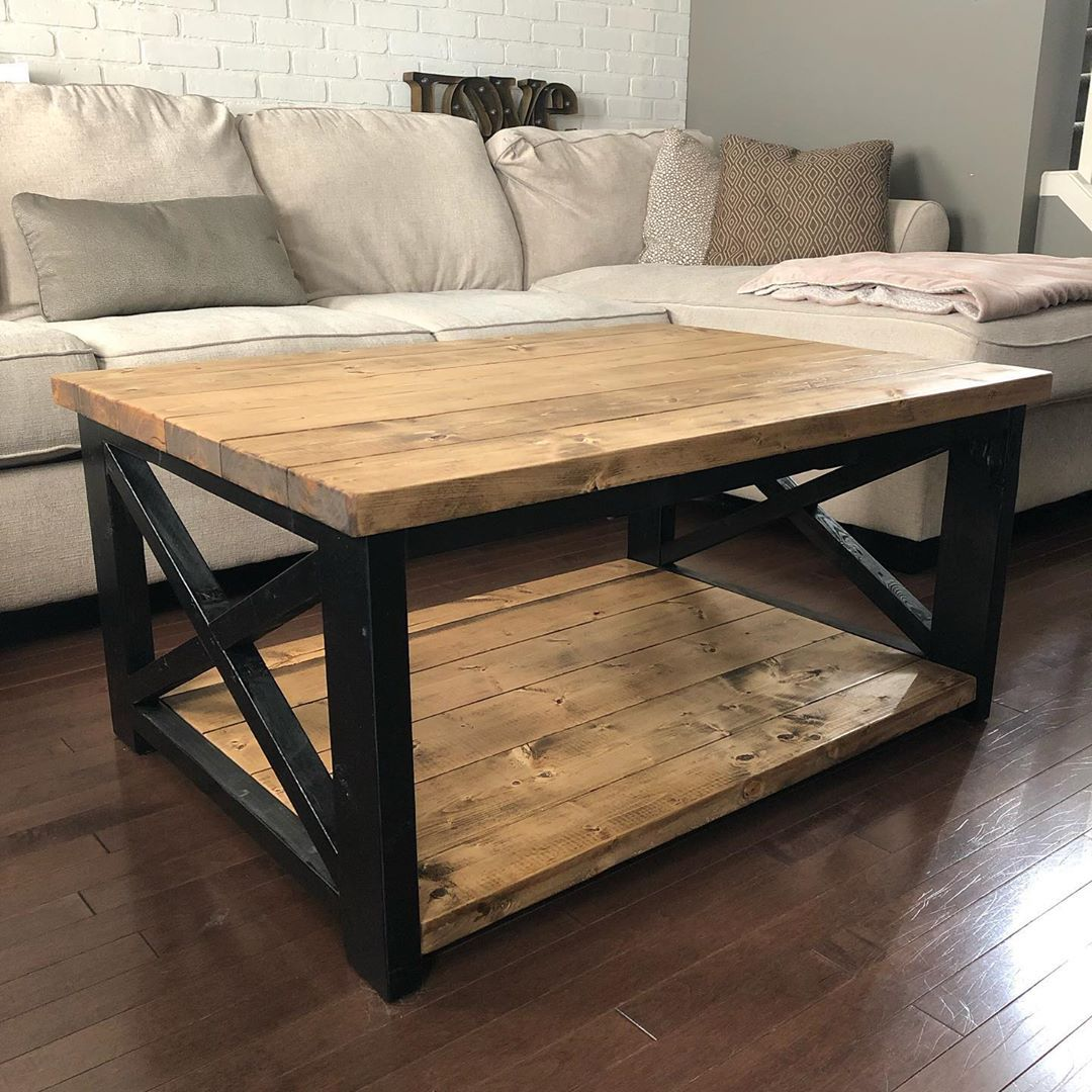 Cool Little Rustic Coffee Table I Finished Awhile Back Coffee