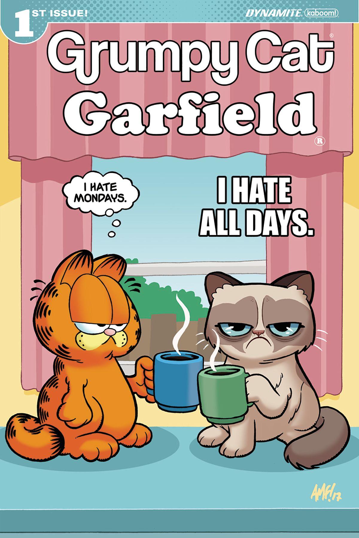 Grumpy Cat Garfield 1 Funny Grumpy Cat Memes Grumpy Cat Grumpy Cat Meme