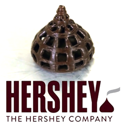 Hershey 3d Chocolate Candy Printing 3d Printing Industry Prints Food Print Chocolate 3d Printer