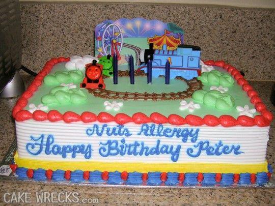 Awe Inspiring Worst Kids Birthday Cakes Walmart Birthday Cakes Birthday Cake Personalised Birthday Cards Veneteletsinfo