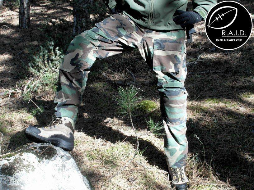 DRIFIRE Woodland Combat Pants  by http://raid-airsoft.com/2015/02/24/drifire-woodland-combat-pants/