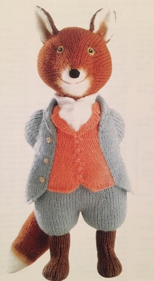 187528c46 Beatrix Potter Toy Knitting Pattern