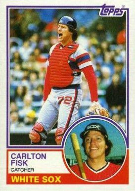 1983 Topps Carlton Fisk 20 Baseball Card Value Price Guide Baseball Cards Old Baseball Cards Baseball Card Values