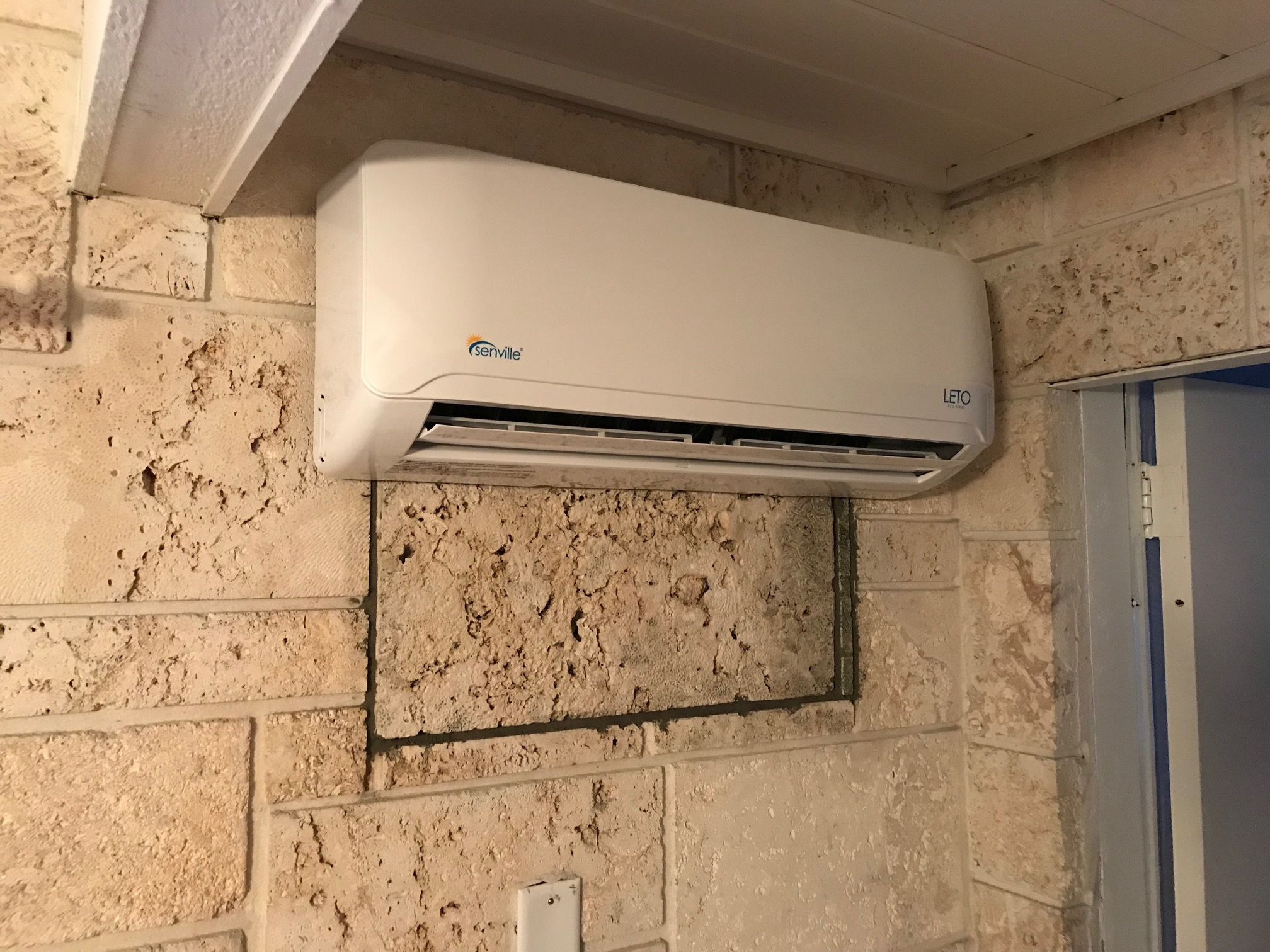 The Air Handler Is In Ductless Ac Unit Ductless Ac Air Handler