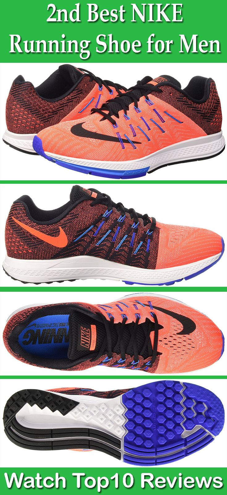Nike Air Zoom Elite 8 Running Shoe: Nike Air Zoom Elite 8 Mens is a  lightweight and dynamic running shoe features slightly padded tongue and  collar, ...