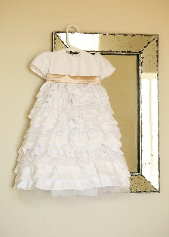 Baptism dress/Christening dress/Blessing dress/Newborn dress/baby ...