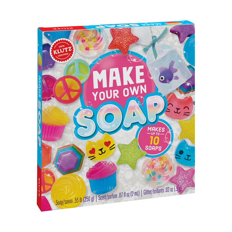 Klutz Make Your Own Soap In 2019 Soap Making Soap Science Kits