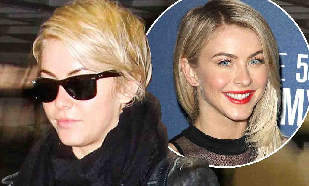 Julianne Hough reveals new pixie cut as she treats herself to manicure