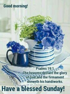 Have A Blessed Sunday Everyone Quotes Blessed Sunday Quotes Blue