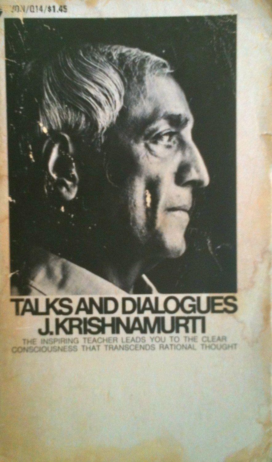Talks And Dialogues J Krishnamurti Amazon Co Uk Krishnamurti J 9780380015733 Books In 2020 Kindle Reading Avon Books Book Publication