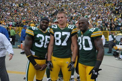 Jordy S Tiny Second Evil Head Jordy Nelson Donald Driver Green Bay Packers Aaron Rodgers