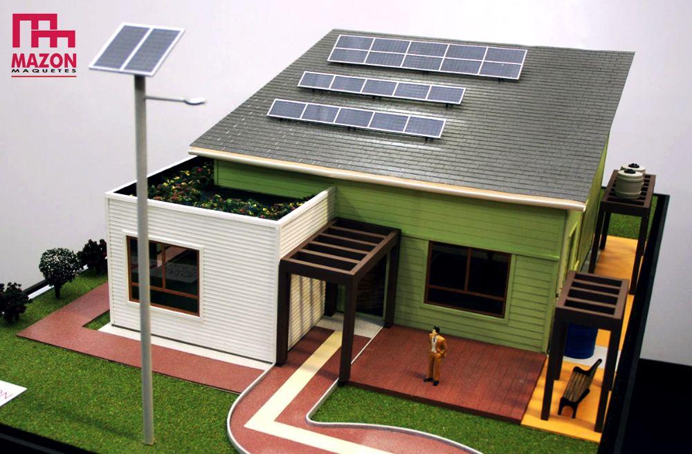Energia solar maquete pesquisa google maquetes for Montar placas solares en casa