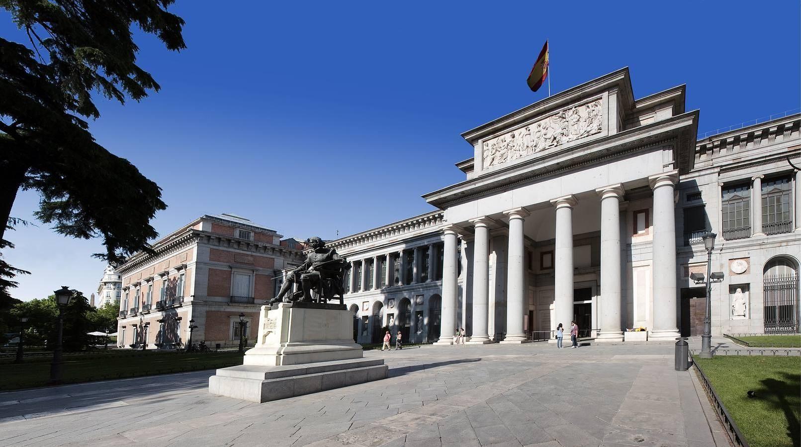 El Museo del Prado, una de las grandes pinacotecas internacionales. En la actualidad se tramita una solicitud a la Unesco para que el eje del Prado sea patrimonio mundial.