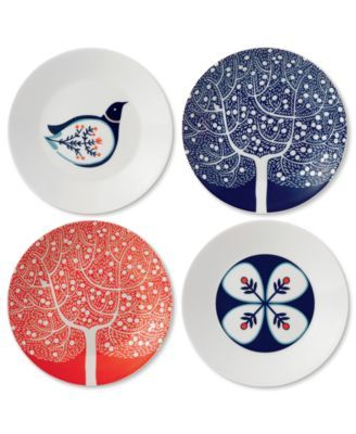Royal Doulton Dinnerware, Set of 4 Fable Appetizer Plates | macys.com