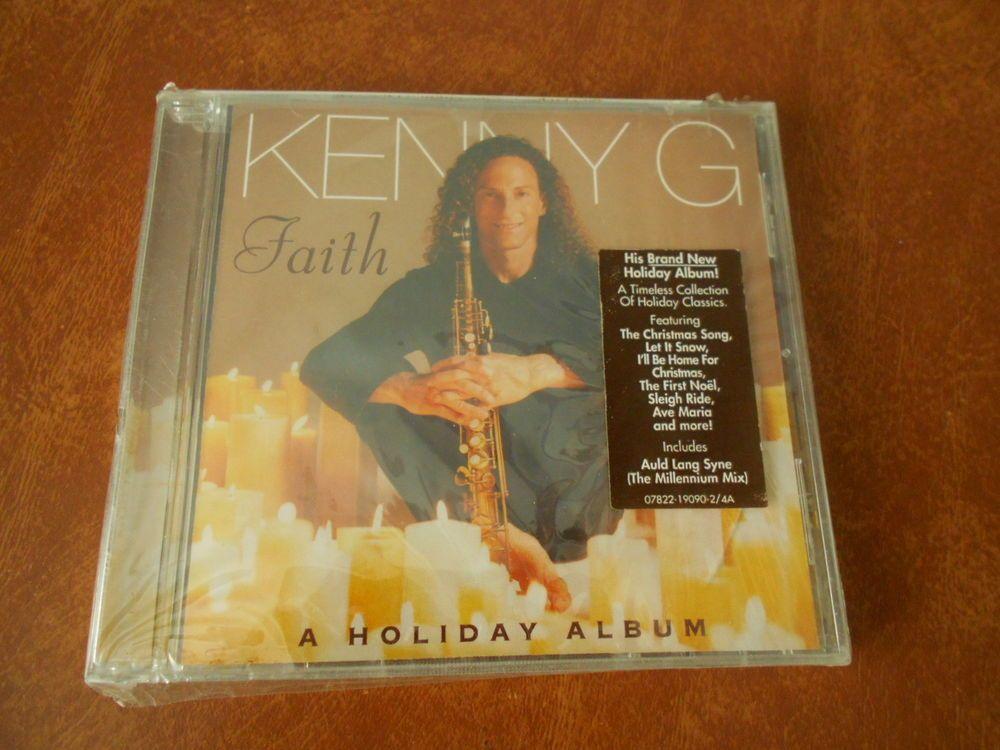 Kenny G Faith A Holiday Album NEW SEALED   Holidays and Album