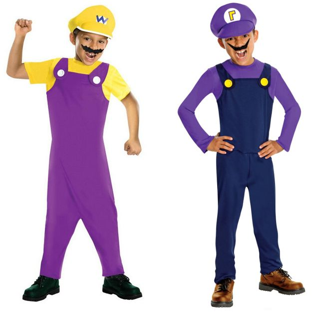 Wario and Waluigi. | Halloween costumes, Halloween ...Waluigi And Wario Costumes