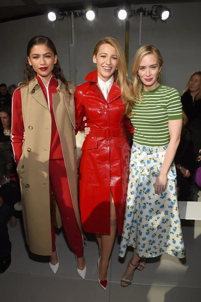 , Celebrities Front Row at New York Fashion Week, Hot Models Blog 2020, Hot Models Blog 2020