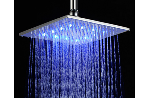 Led Light Shower Head Gadgets 4 Guys Led Shower Head Brass Shower Head Led Color Changing Lights