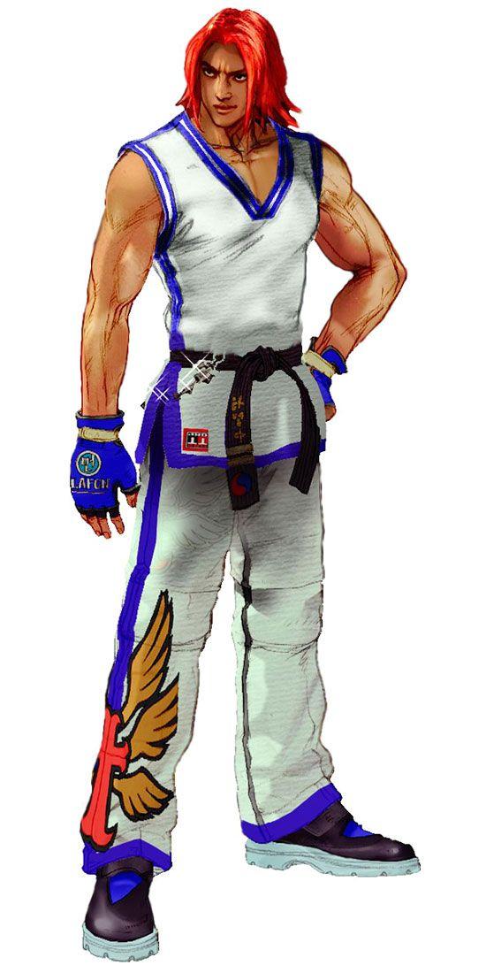 Hwoarang Concept Videogames Artwork Tekken 4 King Of Fighters