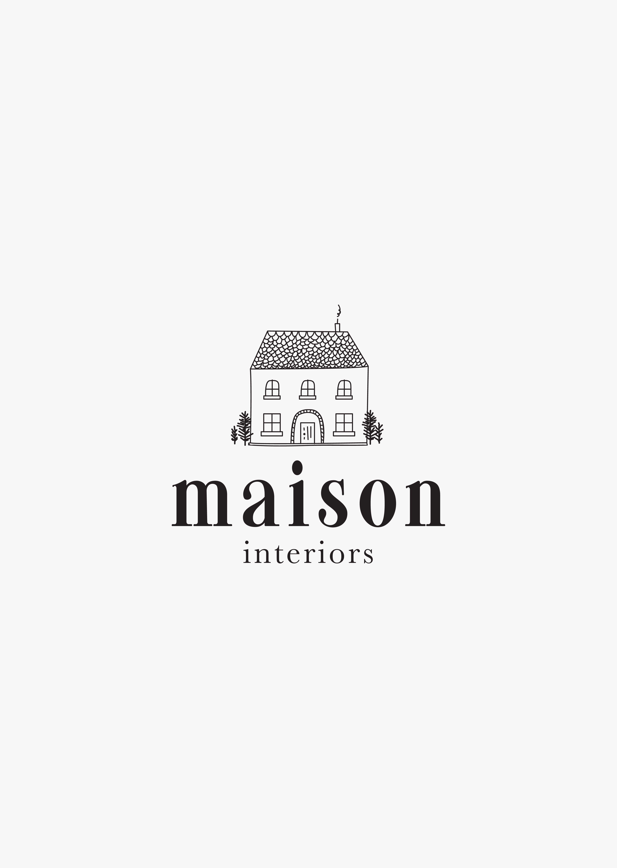 Home Brand Design Business Logo Interiors House Branding