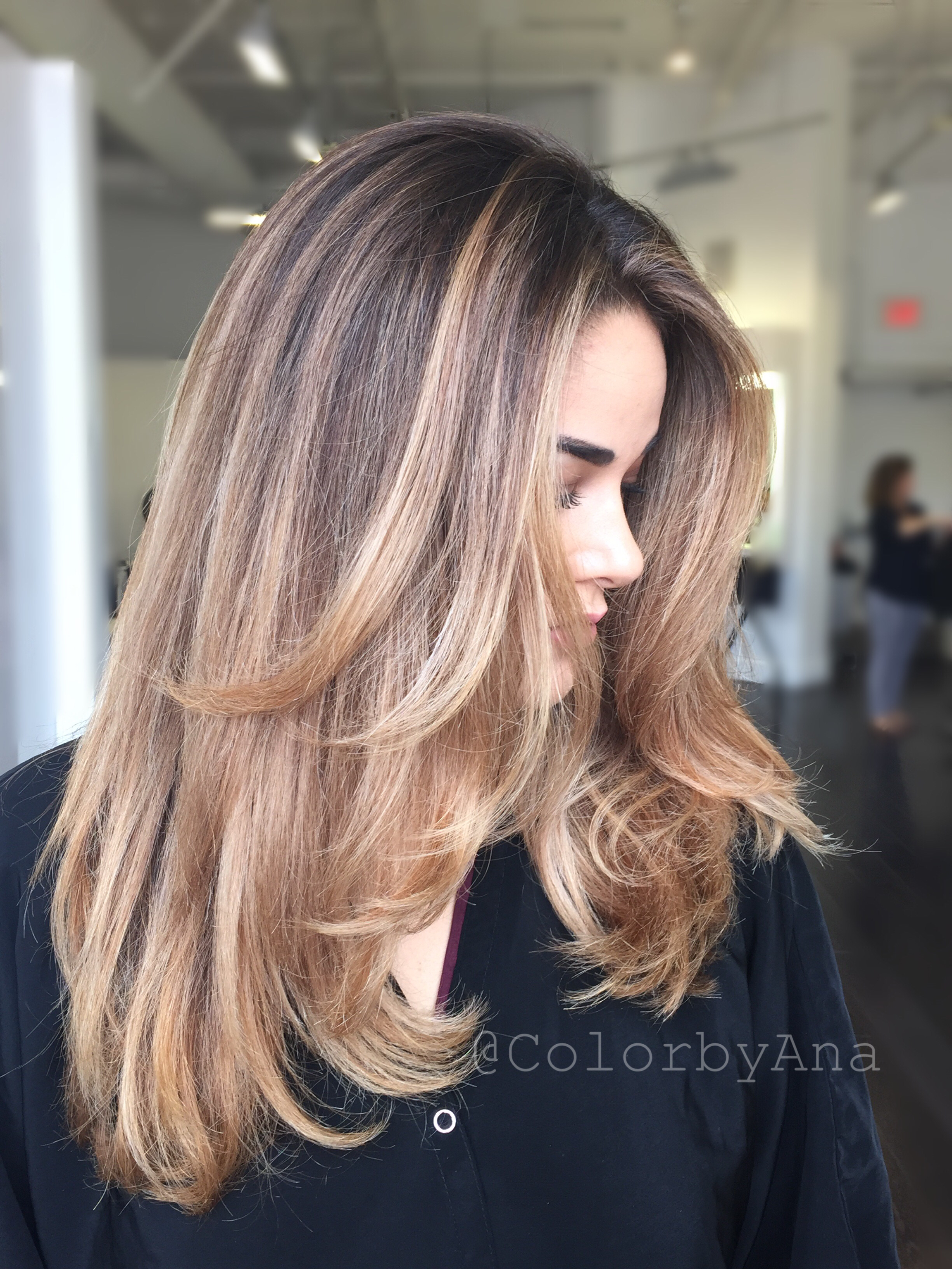 Color By Colorbyana Blonde Balayage Cristophe Salon California Beauty Style Color Curls Longhair Hair Haircolor Boliage Hair Balayage Hair Blonde Balayage