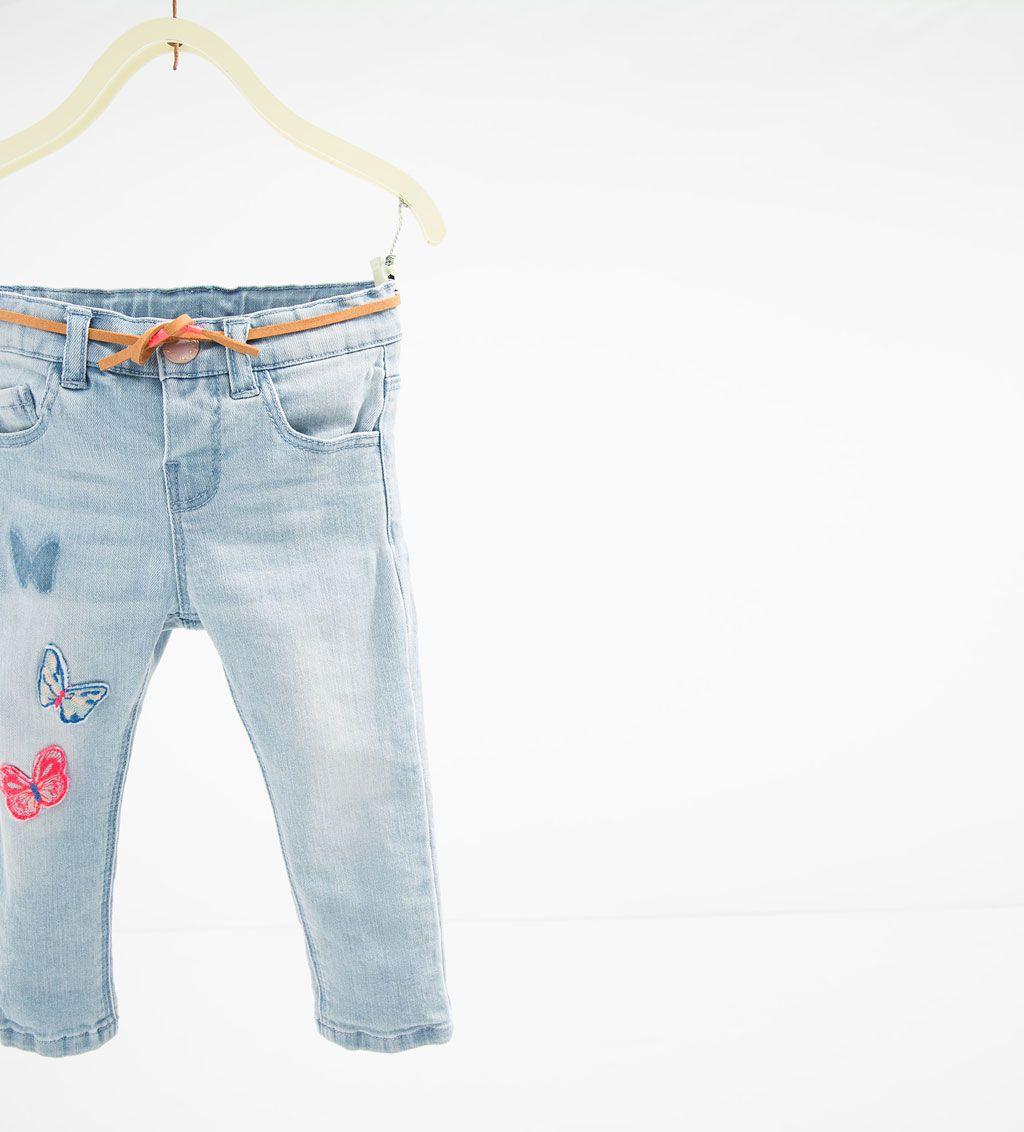 Pantalon Denim Mariposas Coleccion Bebe Nina 3 Meses 4 Anos Ultima Semana Baby Girl Jeans Kids Denim Toddler Clothing Stores