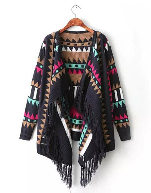 Cheap sweater bat, Buy Quality sweater and directly from China jumper pin Suppliers:                      Spring Autumn Women Vintage Ethnic Geometric Irregular Scarf Collar Knitted Cardigans Loose S